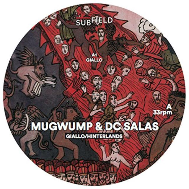MUGWUMP & DC SALAS GIALLO / HINTERLANDS Vinyl Record - UK Release