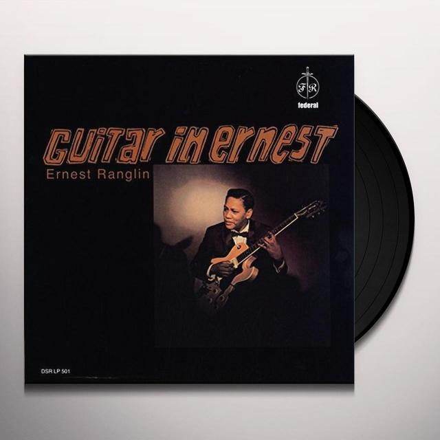 Ernest Ranglin GUITAR IN ERNEST Vinyl Record - UK Release