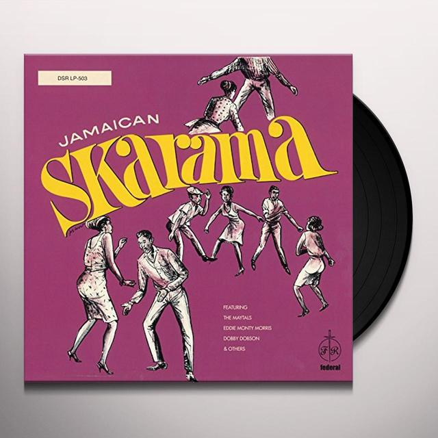 JAMAICAN SKARAMA / VARIOUS (UK) (Vinyl)