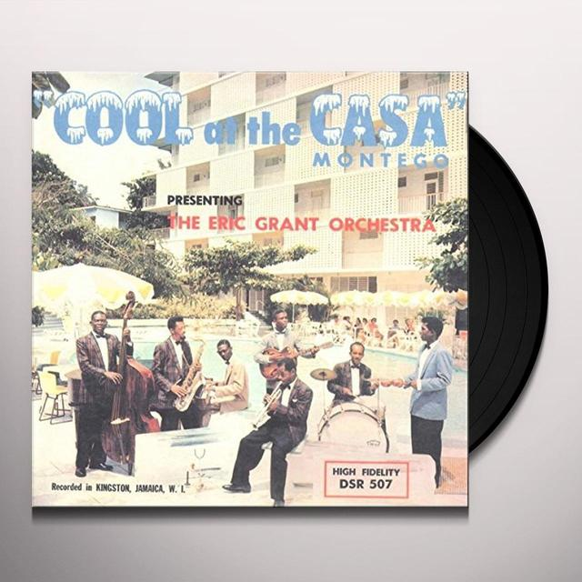 Eric Grant Band COOL AT THE CASA MONTEGO Vinyl Record - UK Release