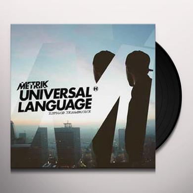 Metrik UNIVERSAL LANGUAGE Vinyl Record - Canada Release