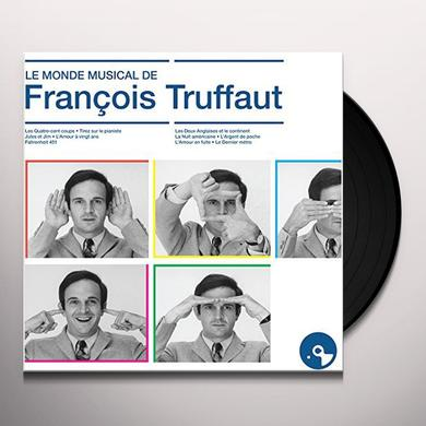 LE MONDE MUSICAL DE FRANCOIS TRUFFA / O.S.T. (FRA) LE MONDE MUSICAL DE FRANCOIS TRUFFA / O.S.T. Vinyl Record