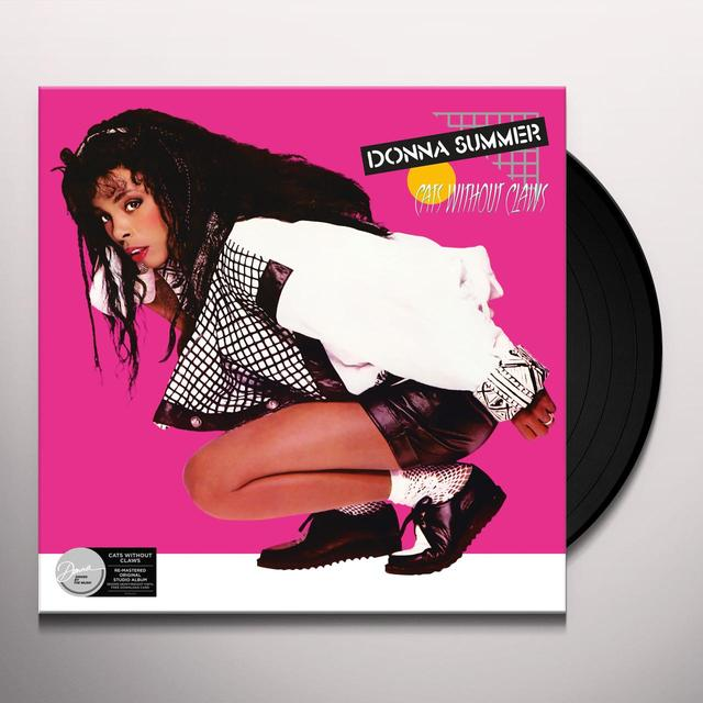 Donna Summer CATS WITHOUT CLAWS Vinyl Record