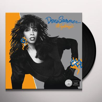Donna Summer ALL SYSTEMS GO Vinyl Record - UK Import
