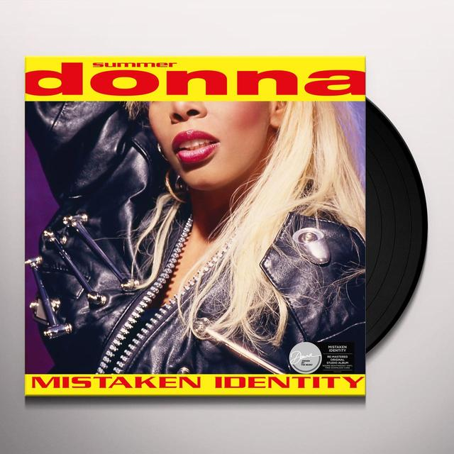 Donna Summer MISTAKEN IDENTITY Vinyl Record - UK Import