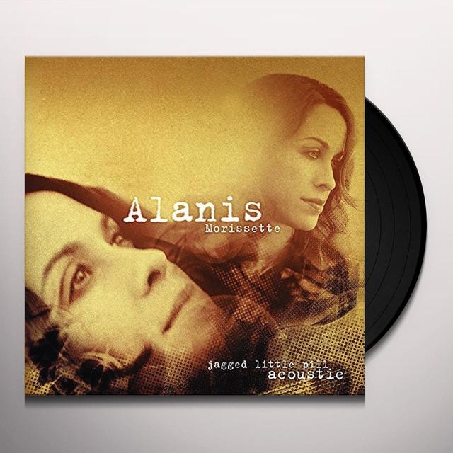 Alanis Morissette JAGGED LITTLE PILL ACOUSTIC Vinyl Record - Holland Import