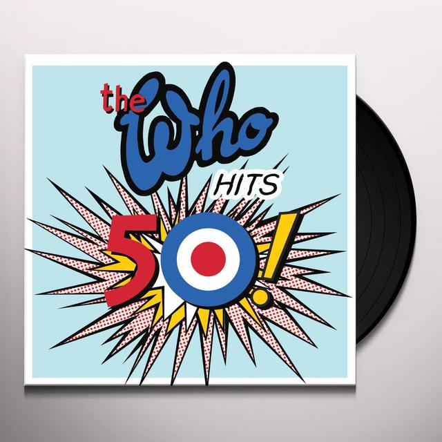 WHO HITS 50 Vinyl Record - Remastered