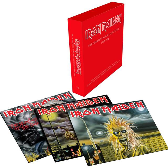 Iron Maiden COMPLETE ALBUMS COLLECTION 1980-1988 (BOX SET) Vinyl Record