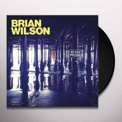 Brian Wilson NO PIER PRESSURE Vinyl Record - Gatefold Sleeve