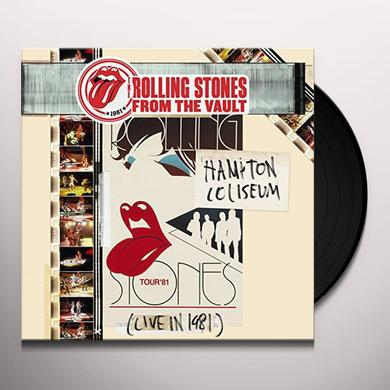 The Rolling Stones FROM THE VAULT: HAMPTON COLISEUM (LIVE IN 1981) Vinyl Record