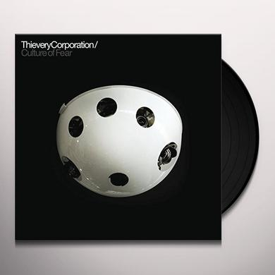 Thievery Corporation CULTURE OF FEAR Vinyl Record - Gatefold Sleeve