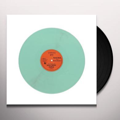 Afrika Bambaataa & The Soul Sonic Force PLANET ROCK (GLOW IN THE DARK VINYL) Vinyl Record
