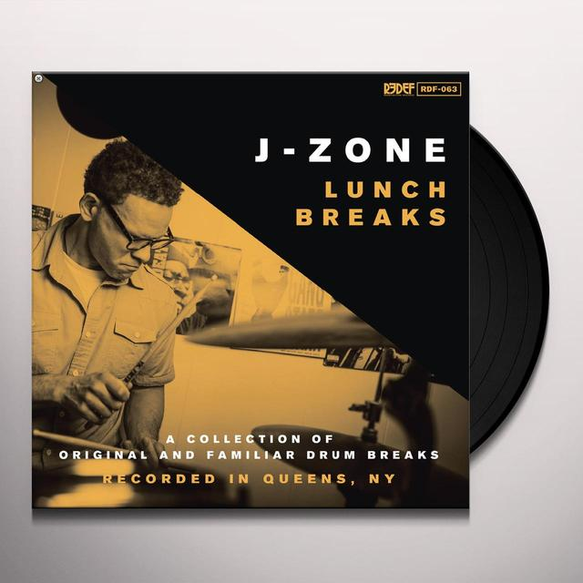 J-Zone LUNCH BREAKS Vinyl Record