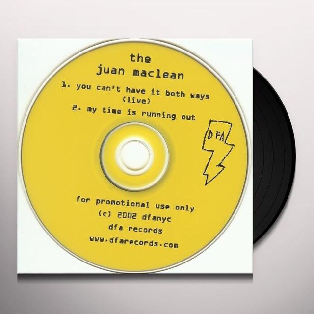 Juan Maclean YOU CAN'T HAVE IT BOTH WAYS (Vinyl)