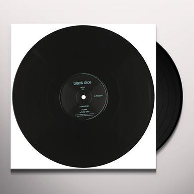 Black Dice MANOMAN Vinyl Record
