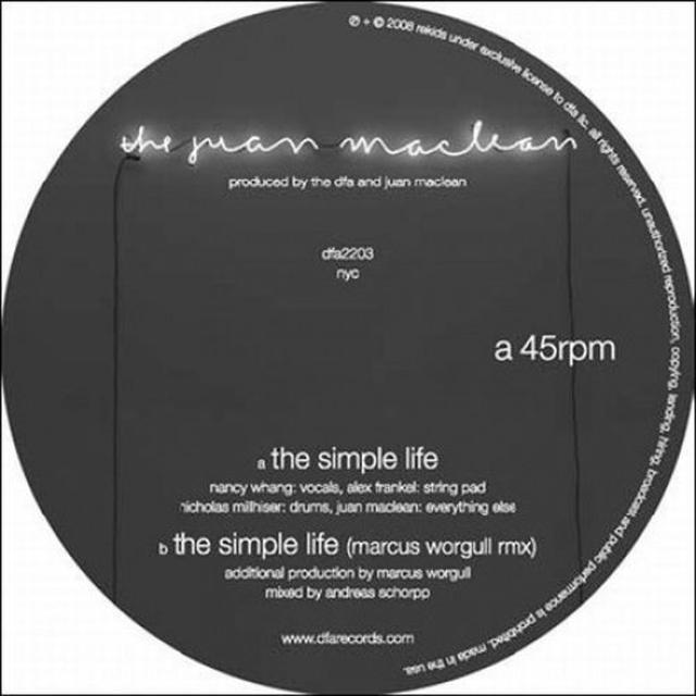 Juan Maclean SIMPLE LIFE Vinyl Record