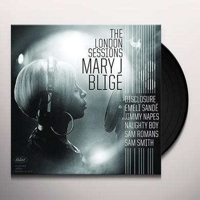 Mary J. Blige LONDON SESSIONS Vinyl Record
