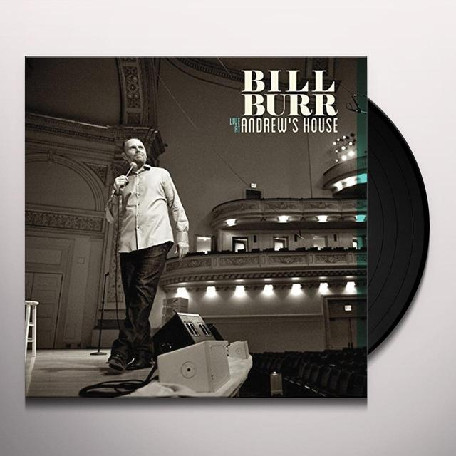 Bill Burr LIVE AT ANDREW'S HOUSE Vinyl Record