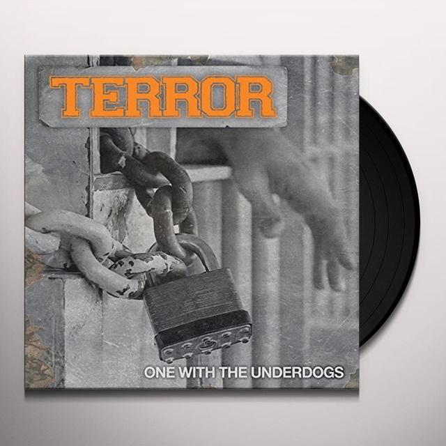 Terror ONE WITH THE UNDERDOGS Vinyl Record