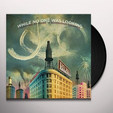 WHILE NO ONE WAS LOOKING: TOASTING 20 YEARS / VAR Vinyl Record
