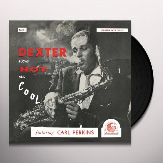 Dexter Gordon DEXTER BLOWS HOT & COOL Vinyl Record