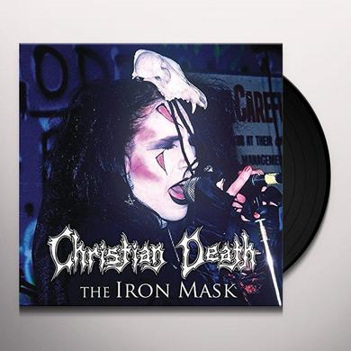 Christian Death IRON MASK Vinyl Record