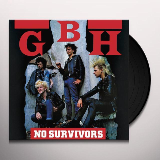 Gbh NO SURVIVORS Vinyl Record