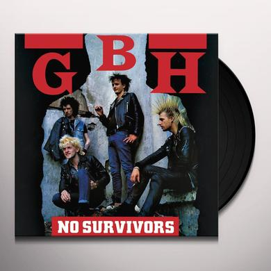 Gbh NO SURVIVORS Vinyl Record
