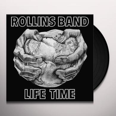 Rollins Band LIFE TIME Vinyl Record