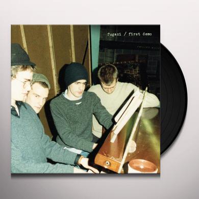Fugazi FIRST DEMO Vinyl Record