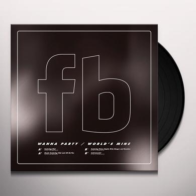 Future Brown WANNA PARTY / WORLD'S MINE Vinyl Record