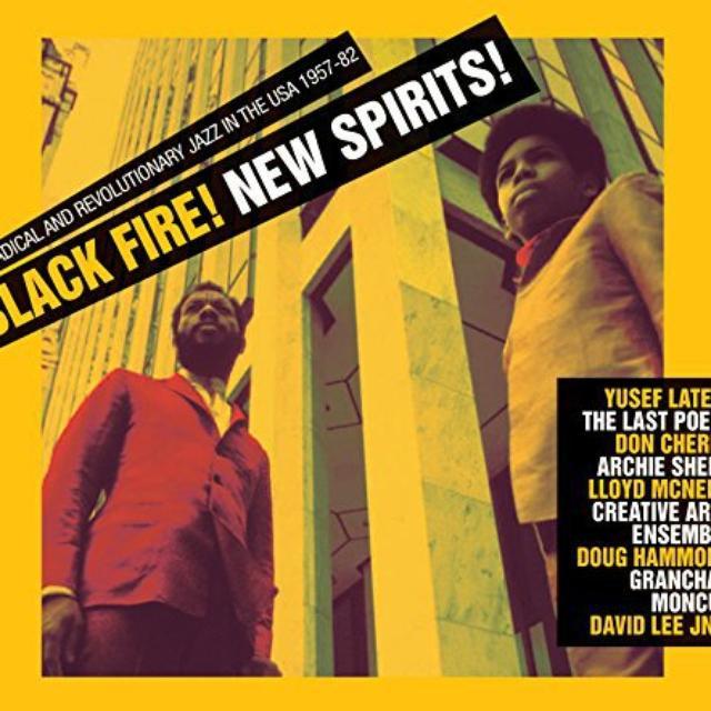 Soul Jazz Records Presents BLACK FIRE NEW SPIRIT Vinyl Record
