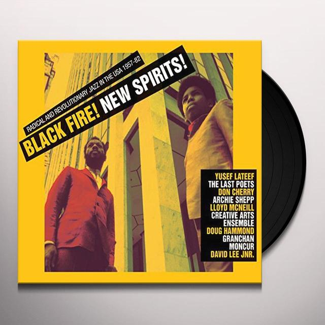 Soul Jazz Records Presents BLACK FIRE NEW SPIRIT Vinyl Record