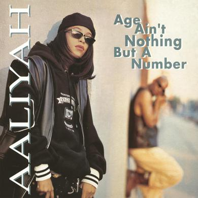 Aaliyah AGE AIN'T NOTHING BUT A NUMBER Vinyl Record