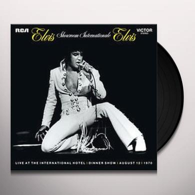 Elvis Presley SHOWROOM INTERNATIONALE Vinyl Record