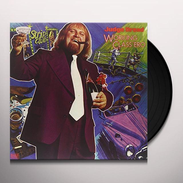 Judge Dread WORKING CLASS 'ERO Vinyl Record