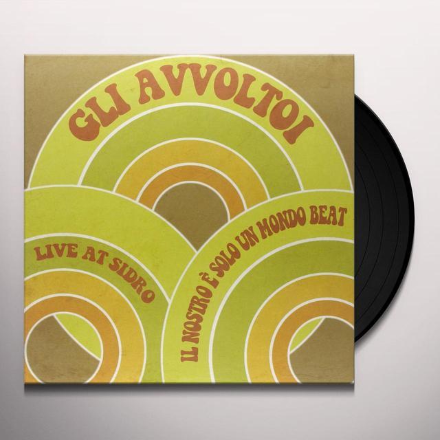 GLI AVVOLTOI IL NRO E SOLO UN MONDO BEAT Vinyl Record - Italy Import