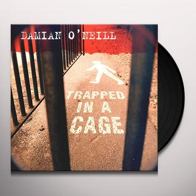 Damien O'Neill TRAPPED IN A CAGE Vinyl Record - UK Import