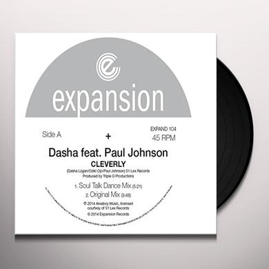 Paul Dasha Johnson CLEVERLY Vinyl Record - UK Import