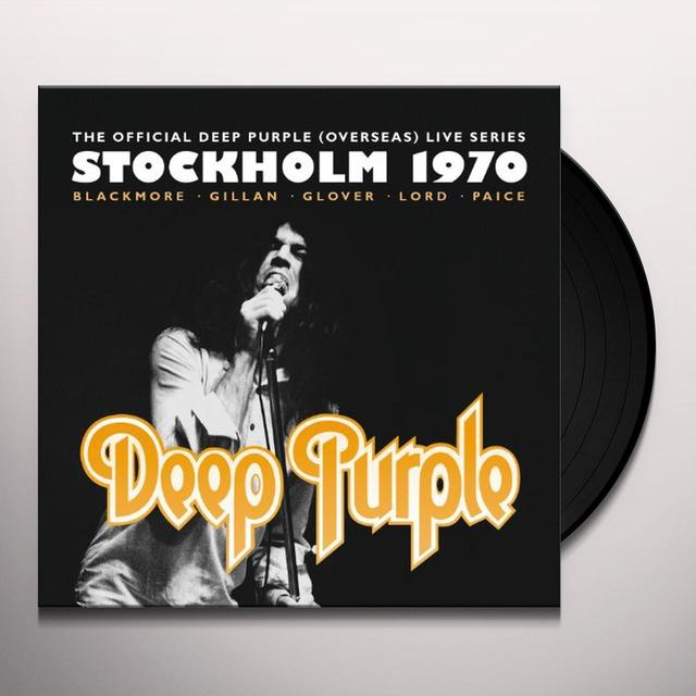 Deep Purple STOCKHOLM 1970 Vinyl Record - UK Import