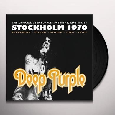 Deep Purple STOCKHOLM 1970 Vinyl Record