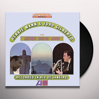 Herbie Mann, Joao Gilberto & Antonio Carlos Jobim RECORDED IN RIO DE JANEIRO Vinyl Record