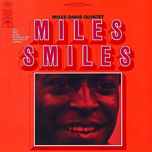 Miles Davis MILES SMILES Vinyl Record - Holland Import