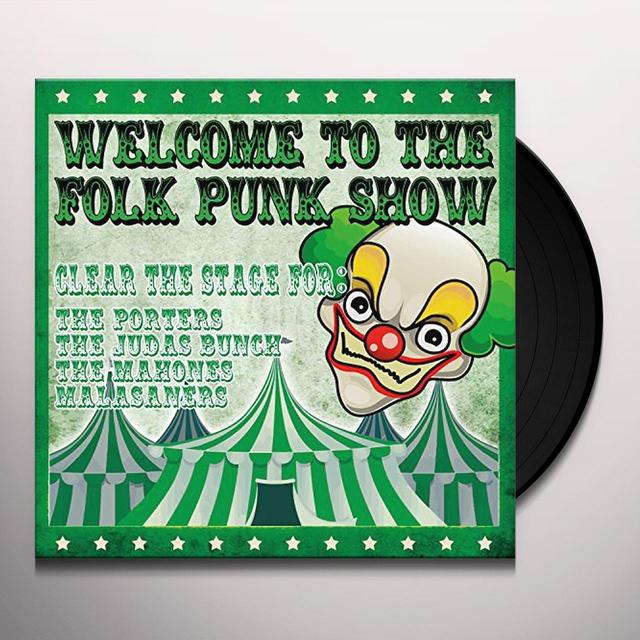 WELCOME TO THE FOLK PUNK / VARIOUS Vinyl Record