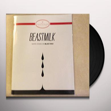 Beastmilk WHITE STAINS ON BLACK WAX Vinyl Record