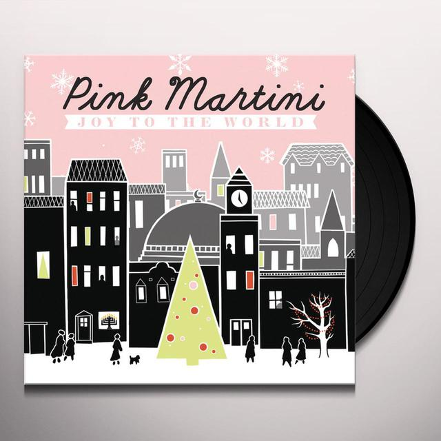 Pink Martini JOY TO THE WORLD Vinyl Record