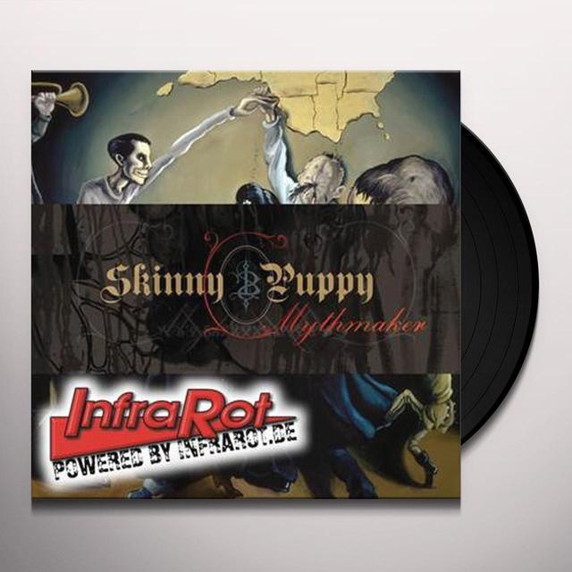 Skinny Puppy MYTHMAKER Vinyl Record - Limited Edition, Remastered
