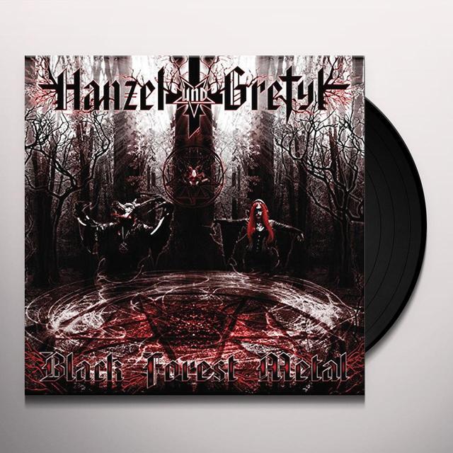 HANZEL UND GRETYL BLACK FOREST METAL Vinyl Record