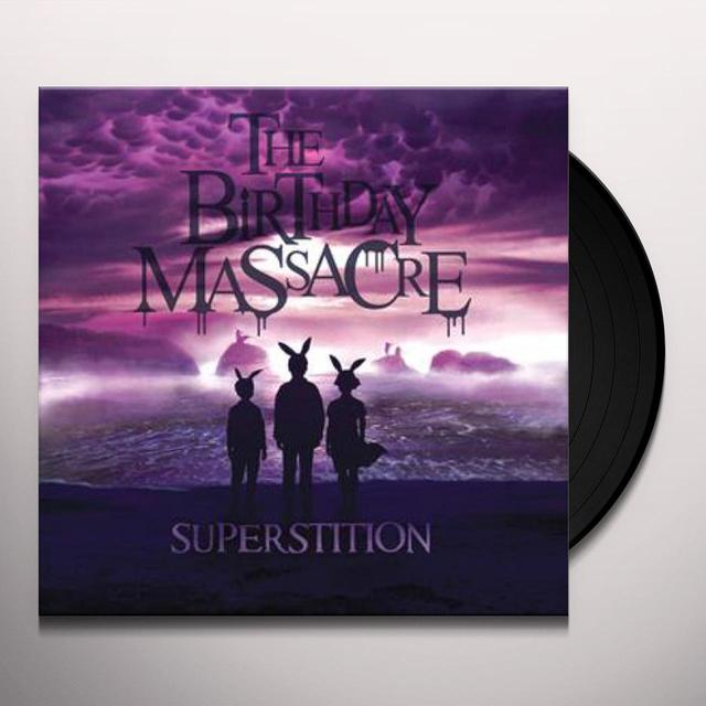 The Birthday Massacre SUPERSTITION Vinyl Record - Limited Edition