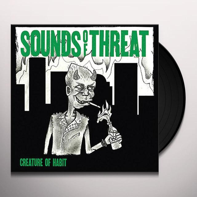 SOUNDS OF THREAT CREATURE OF HABIT Vinyl Record